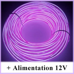 Kit Néon fil 12V Violet