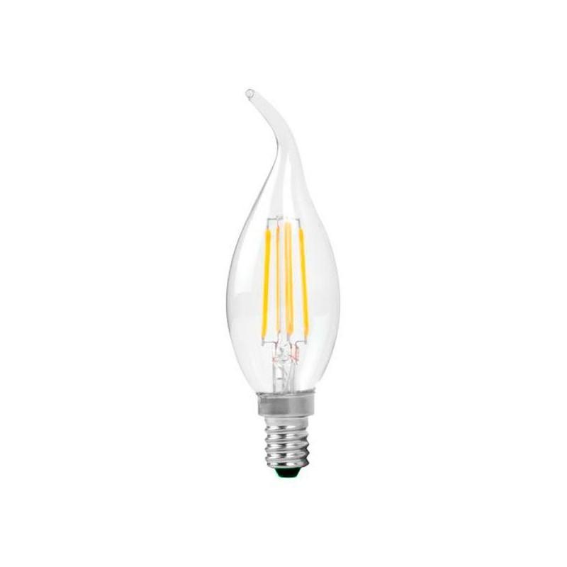 Ampoule à LED E14 4W Flamme
