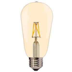 Ampoule E27 4W ST64 Filament