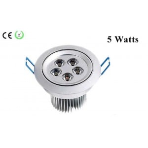 Spot orientable 5W Chromé