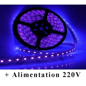 Kit Ruban LED Violet Submersible