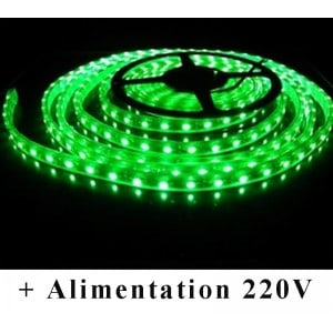 Kit Ruban LED Vert Submersible 12V-230V