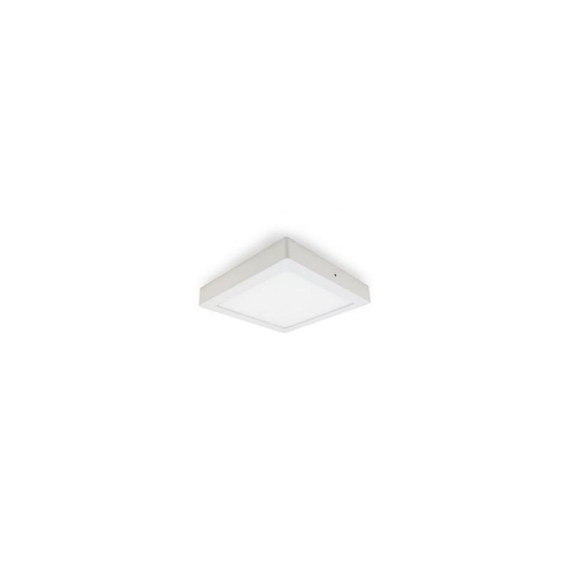 Plafonnier LED - 30W, carré