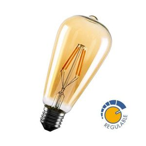 Ampoule à LED 6W filament dimmable