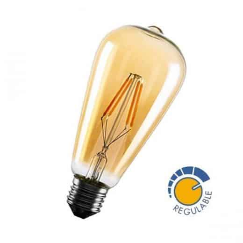 Ampoule 6W filament dimmable