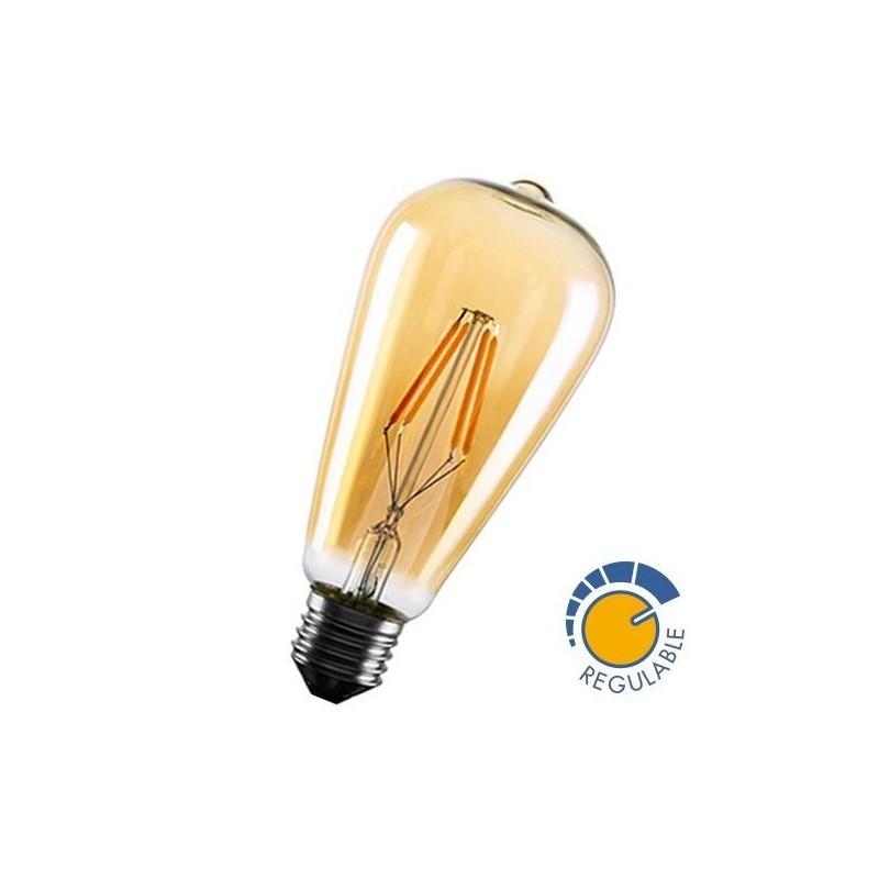 Ampoule à LED 6W filament dimmable