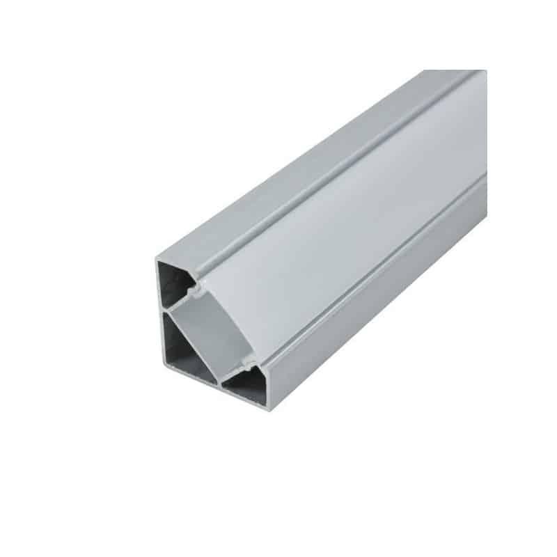 Profilé aluminium d'angle Ruban LED