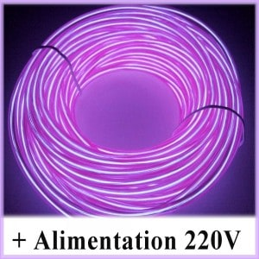 Kit Néon fil 220V Violet