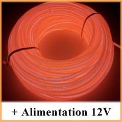 Kit Néon fil 12V Orange