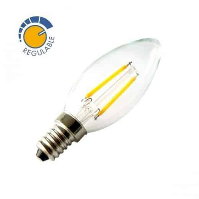 Ampoule E14 2W dimmable