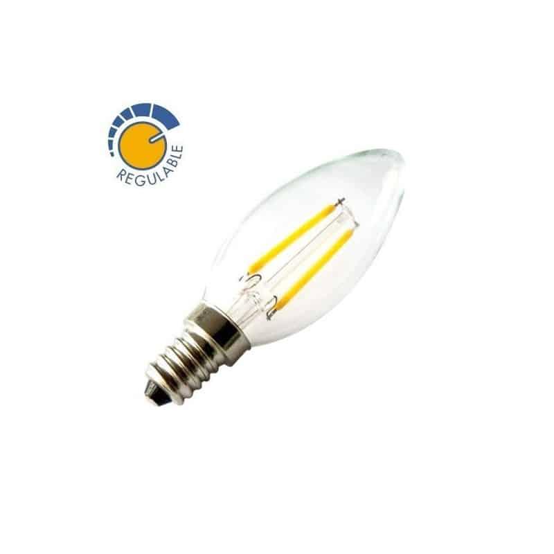 Ampoule à LED E14 2W dimmable