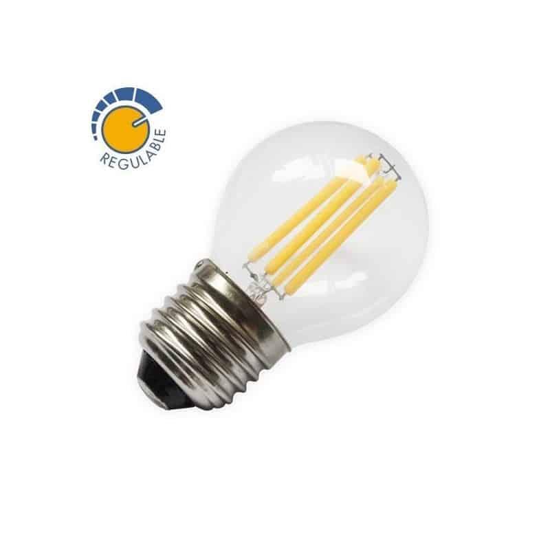 Ampoule E27 4W G45 dimmable