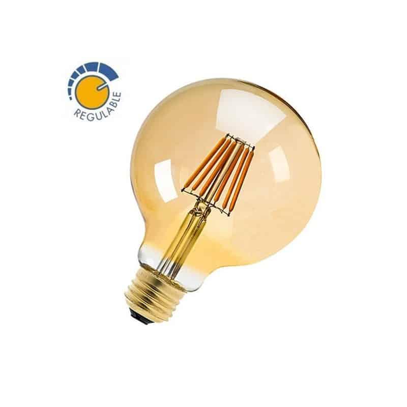 Ampoule à LED 6W globe dimmable