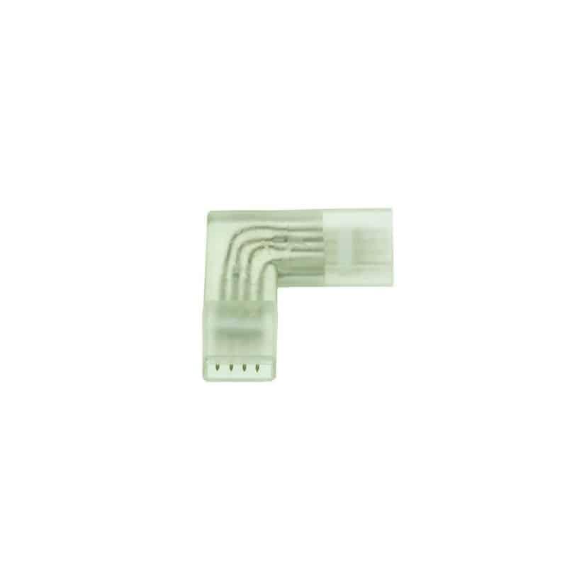 Connecteur angle droit Ruban LED 220V RGB