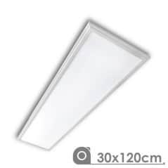 Dalle à LED plafond 120x30cm