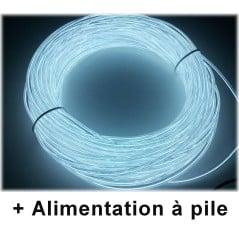 Kit Néon fil Portatif Blanc