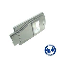 Lampadaire solaire 20W avec détecteur
