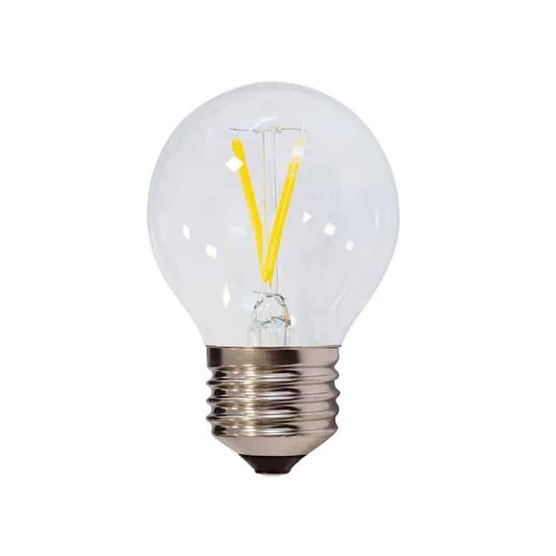 Ampoule E27 2W G45 Filament