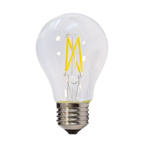 Ampoule à LED E27 6W A60 Filament dimmable