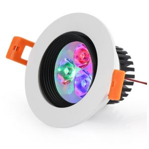 Spot orientable 3W multi-couleurs