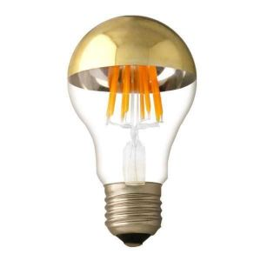 Ampoule E27 4W filament miroir bas