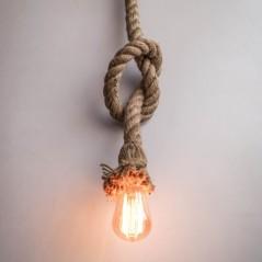 Lampe suspendue corde E27