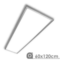 Dalle LED 120x60cm Argent
