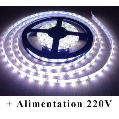 Kit Ruban LED 24V-230V Blanc Froid