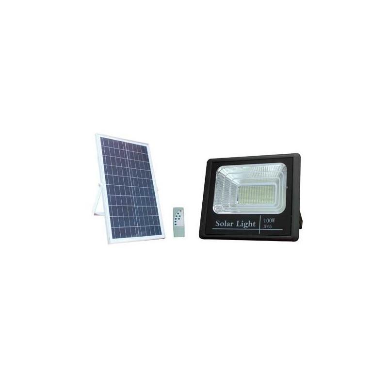Projecteur solaire 100W