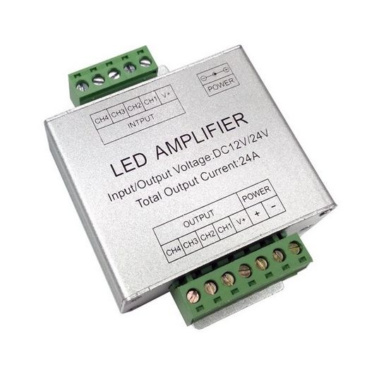 Amplificateur Ruban led rgb 144W