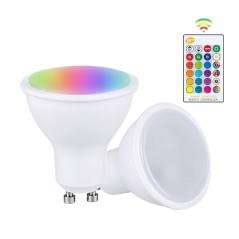 Ampoule GU10 10W RGB