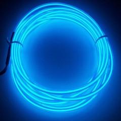 Néon fil Bleu