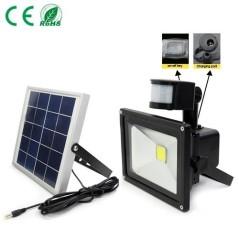 Projecteur solaire 50W avec détecteur