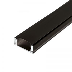 Profilé aluminium Noir Ruban LED