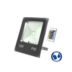 Projecteur LED 50W RGB