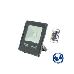 Projecteur LED 30W RGB
