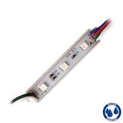 Module 3 LED 12V IP65 RGB