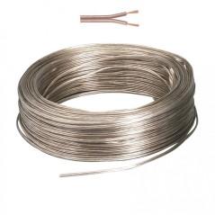 Câble transparent 2x0,5mm