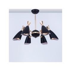 Lustre pendentif métal Noir