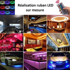 Prestastion ruban LED sur mesure
