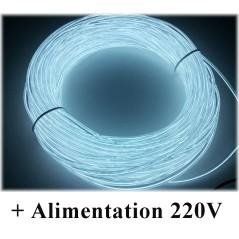 Kit Néon fil 220V Blanc
