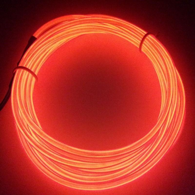 Néon fil Rouge