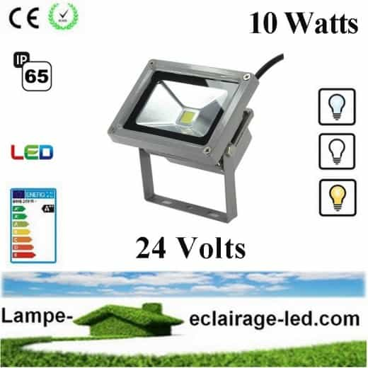 Projecteur à LED 10W 24V