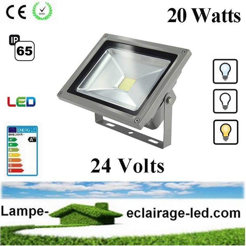 Projecteur à LED 20W 24V