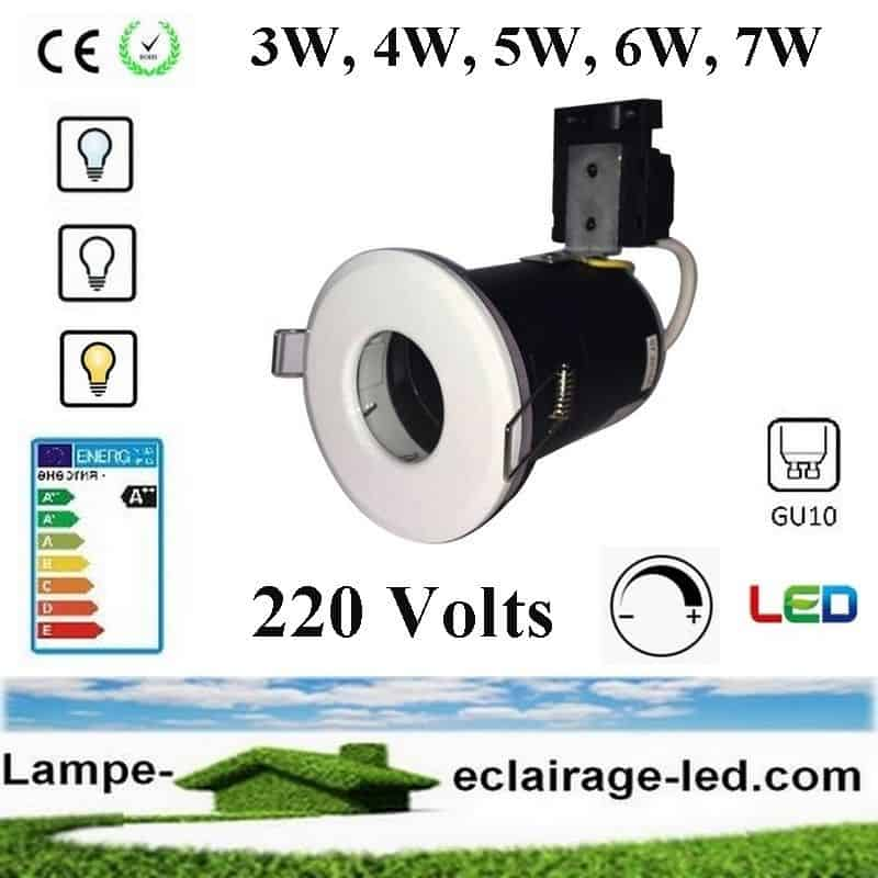 spot encastrable rt2012 blanc. Black Bedroom Furniture Sets. Home Design Ideas
